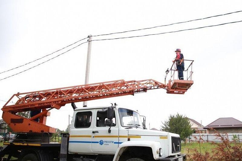 «Россети Кубань» обеспечила электроэнергией 4,2 тысячи новых потребителей в краснодарском энергорайоне