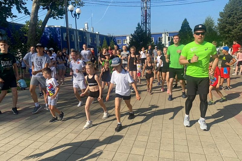 «Зарядка с министром» прошла в Краснодарском крае