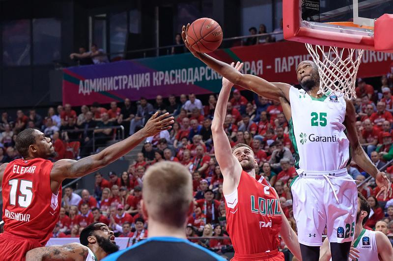 В первом финальном матче Еврокубка «Локомотив-Кубань» проиграл «Дарушшафаке», фото-24