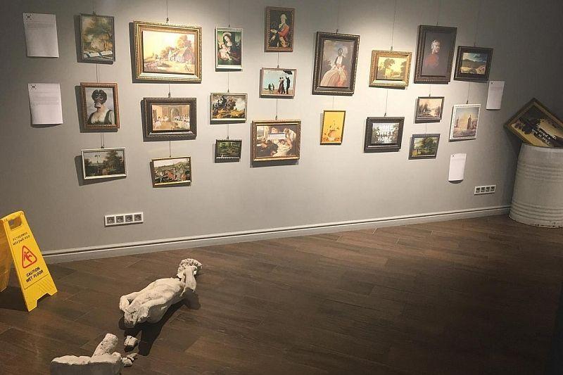 Репродукции работ Бэнкси можно будет увидеть в выставочном зале