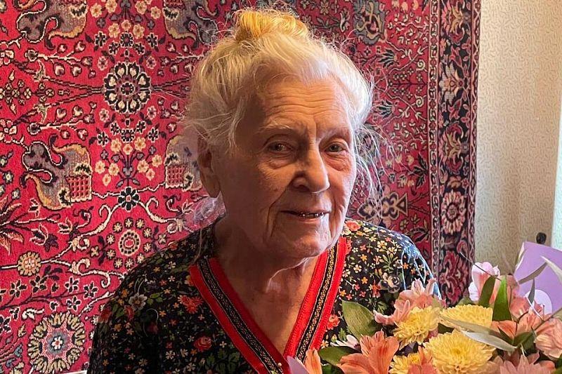 Ветеран Великой Отечественной войны Юлиания Николенко из Краснодара отмечает 95-летний юбилей