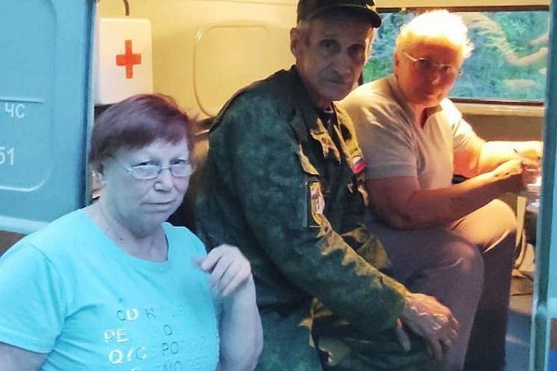 В Горячем Ключе две женщины ушли в лес гулять и заблудились. Их нашли спасатели