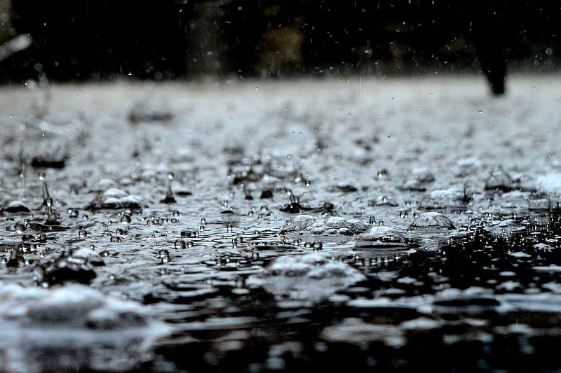 На Краснодар обрушился ливень