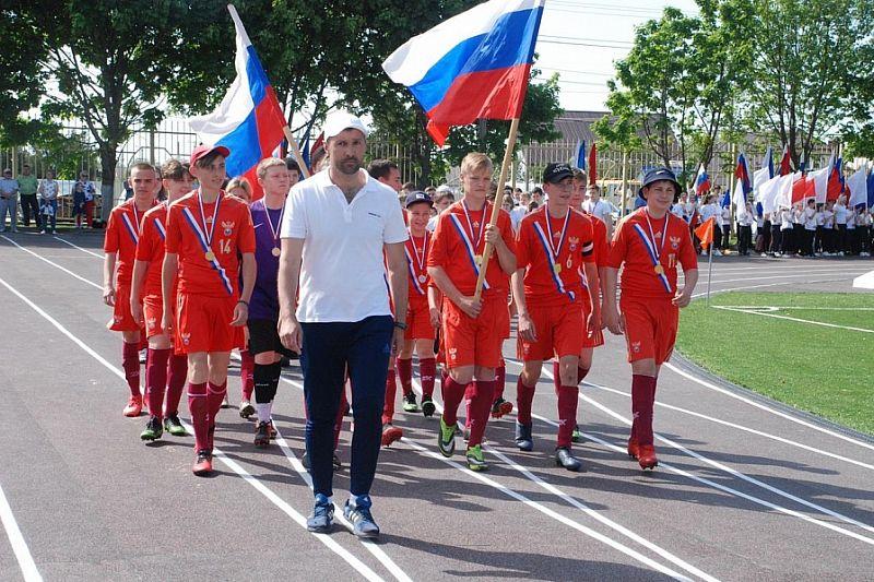 Обновленный стадион «Венец» открыли в Гулькевичском районе