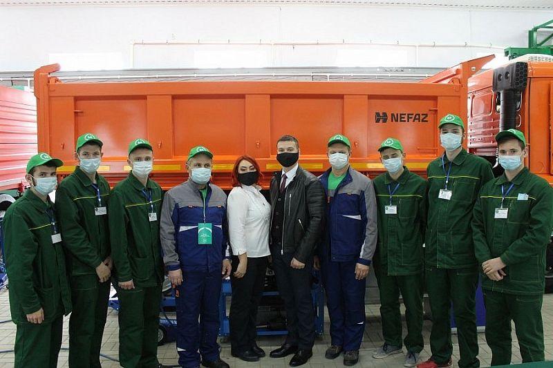 В Брюховецком аграрном колледже  открыли мастерские по нацпроекту «Образование»
