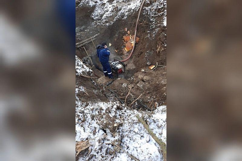 Аварийные работы проводят на теплосетях в Краснодаре