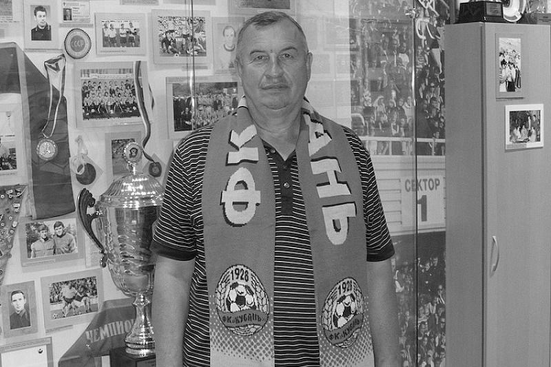 Умер первый тренер вратаря ФК «Краснодар» Матвея Сафонова