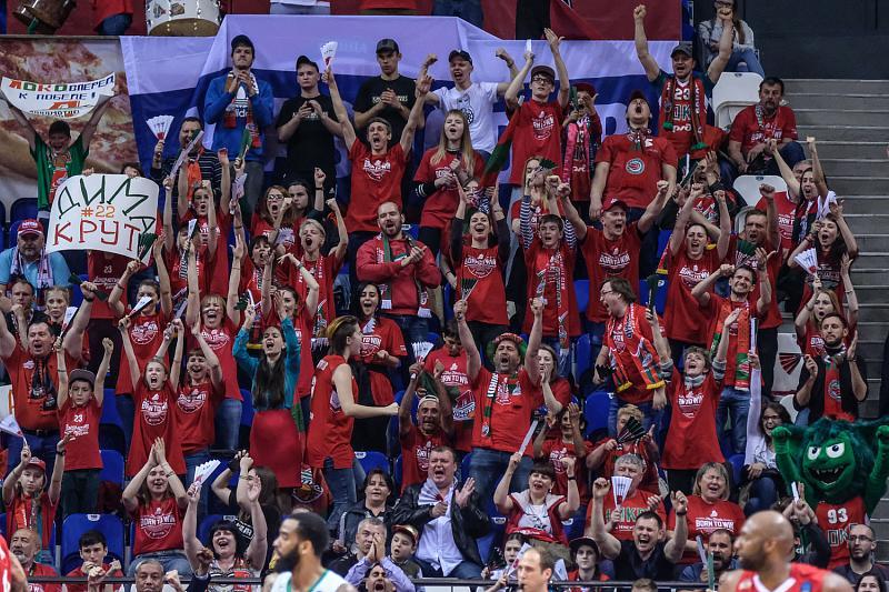В первом финальном матче Еврокубка «Локомотив-Кубань» проиграл «Дарушшафаке», фото-28