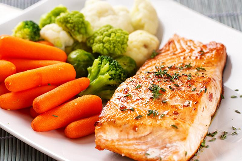 фото рыба с овощами