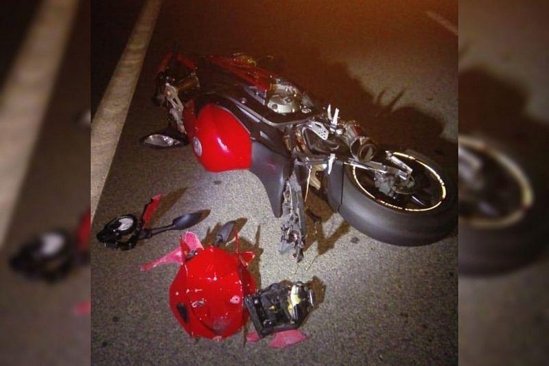 В Адыгее при столкновении с «Газелью» пострадала мотоциклистка из Краснодарского края
