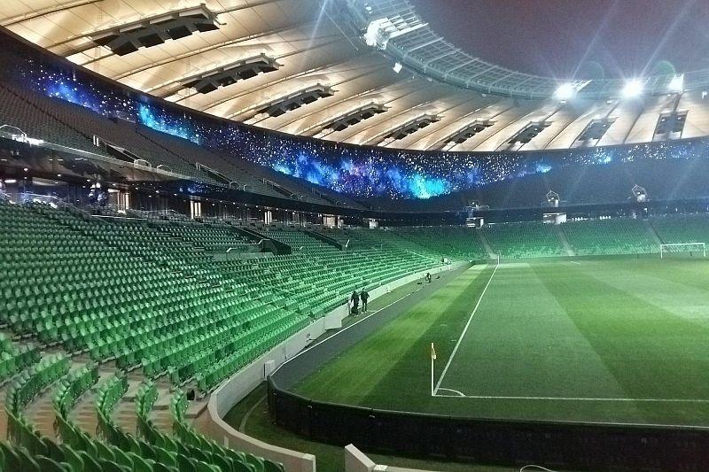Футболисты «Краснодара» и «Челси» приехали на стадион
