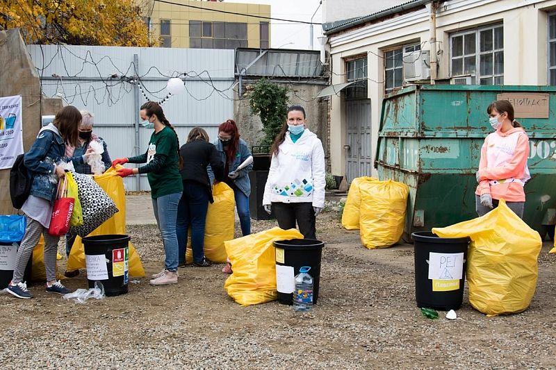 Экологическая акция по сбору отходов пройдет в Краснодаре