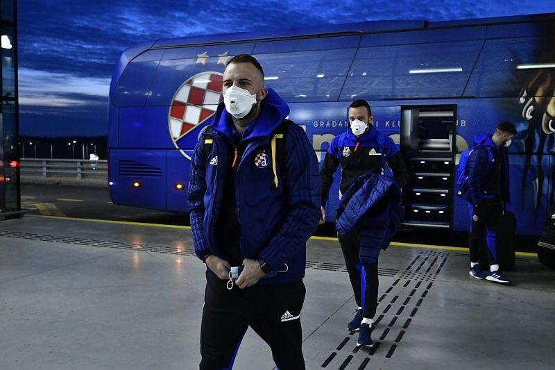Игроки «Динамо» Загреб прилетели в Краснодар