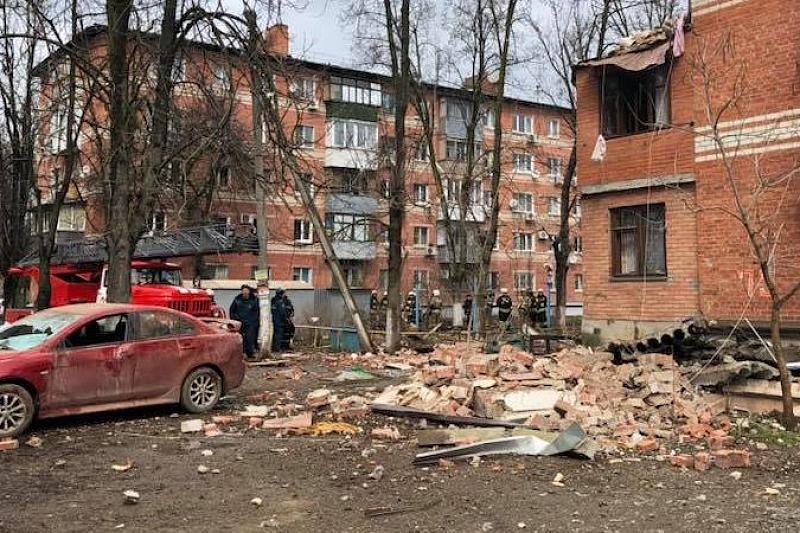 В жилом доме в Краснодаре произошел взрыв бытового газа, фото-2
