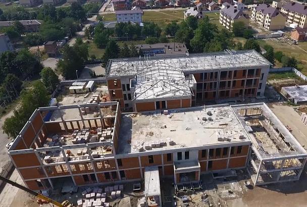Новый корпус к школе № 81 в пос. Пригородном Краснодара будут строить под ежедневным контролем