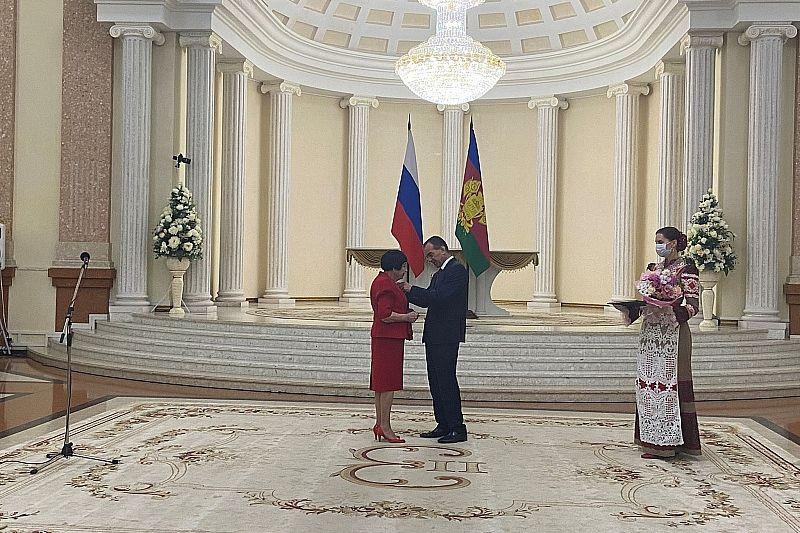 В День России губернатор Вениамин Кондратьев наградил выдающихся жителей Краснодарского края
