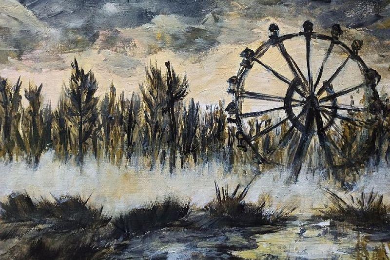 Посвященная аварии на Чернобыльской АЭС выставка картин откроется в мае