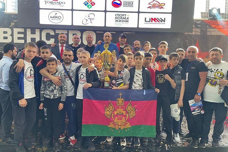 Юные кубанцы стали призерами первенства России по смешанному боевому единоборству