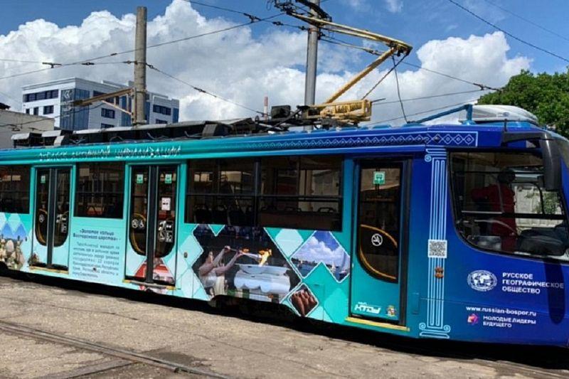 Три новых «географических» трамвая вышли на маршруты в Краснодаре