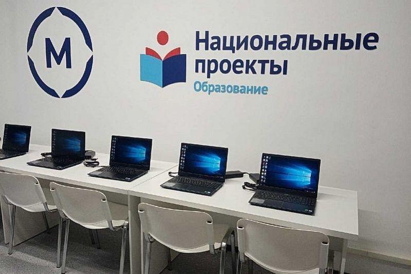 По нацпроекту «Образование» открылось пять мастерских строительного профиля