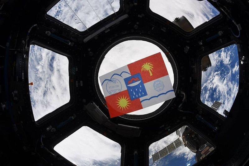 Космонавты поздравили жителей Сочи с Днем города с борта МКС