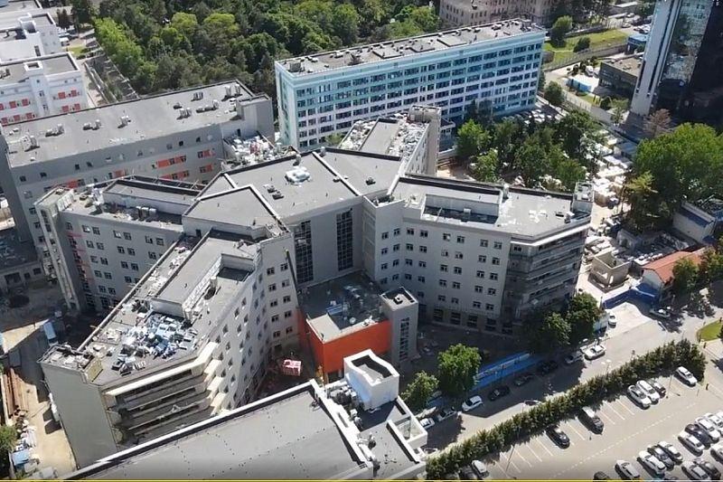 Кубань получит более 3,3 млрд рублей субсидий на продолжение строительства корпусов первой краевой больницы и детской клинической больницы