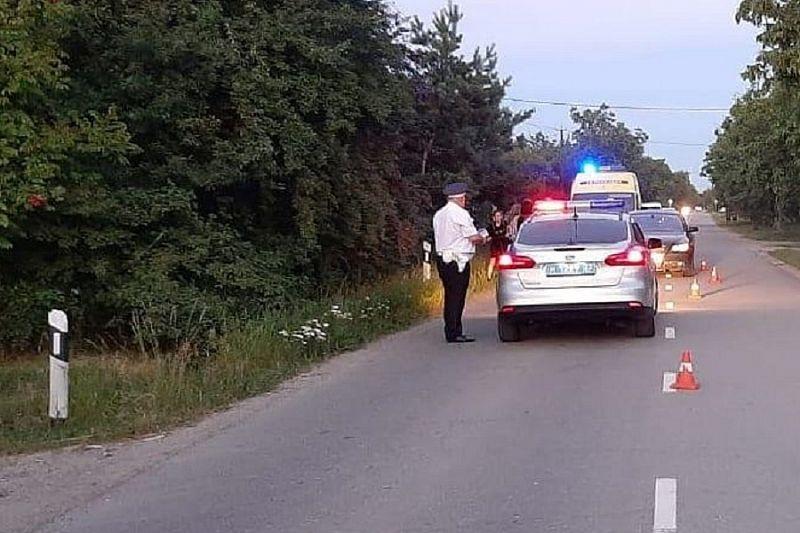 В Белореченске под колеса иномарки попал 8-летний пешеход
