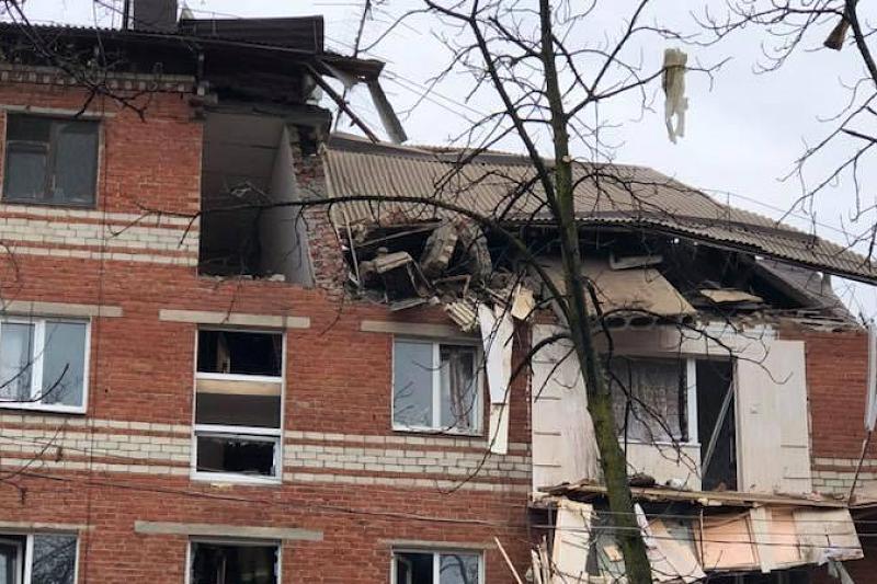 В жилом доме в Краснодаре произошел взрыв бытового газа, фото-3