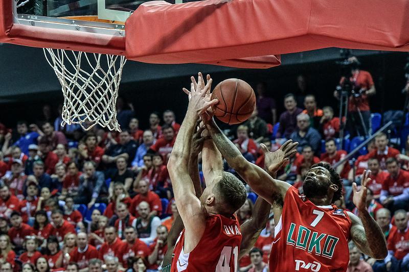 В первом финальном матче Еврокубка «Локомотив-Кубань» проиграл «Дарушшафаке», фото-8