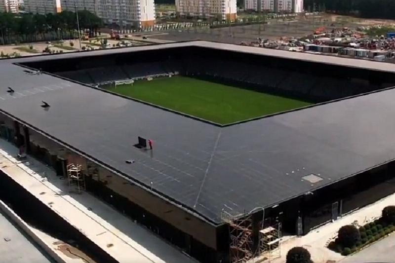 Появилось видео нового стадиона, который строит Сергей Галицкий в Краснодаре