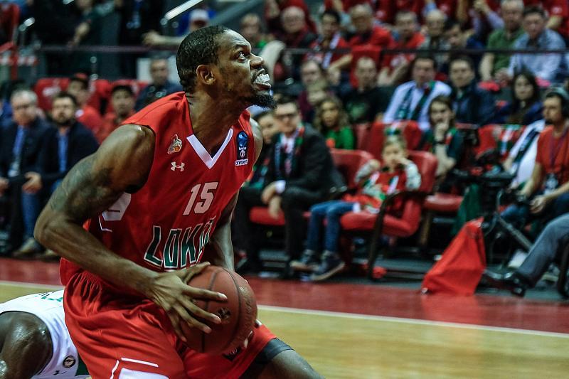 В первом финальном матче Еврокубка «Локомотив-Кубань» проиграл «Дарушшафаке», фото-11
