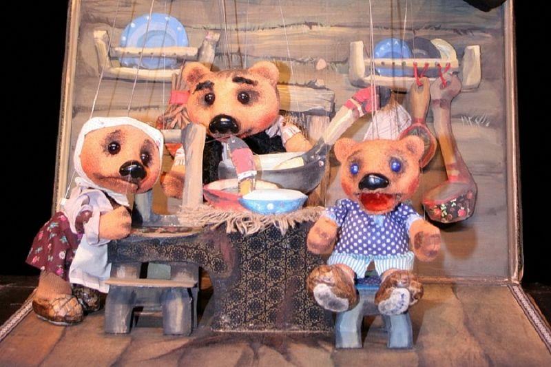 Краевой театр кукол покажет спектакль в «Атамани»
