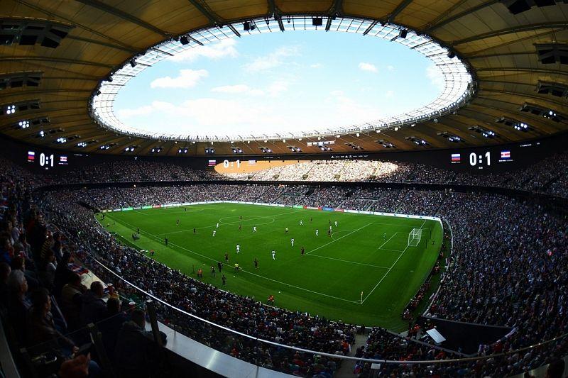 На стадионе ФК «Краснодар» впервые обновили газон