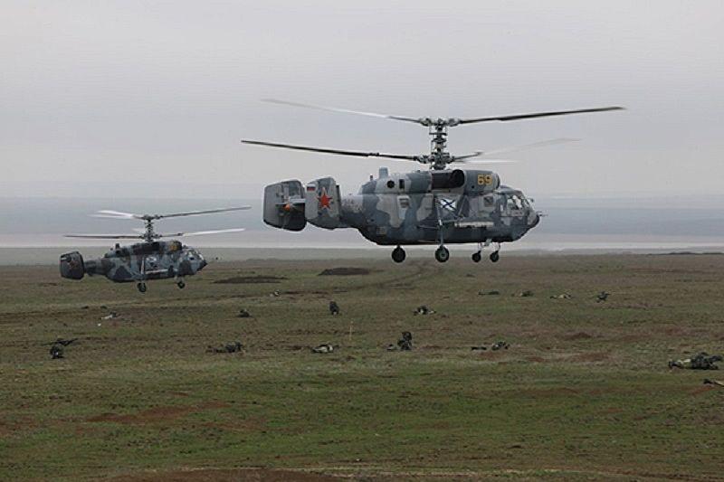 Черноморский флот начал проверку сил в Краснодарском крае
