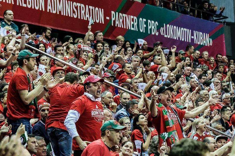 В первом финальном матче Еврокубка «Локомотив-Кубань» проиграл «Дарушшафаке», фото-9